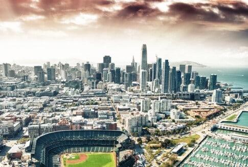 サンフランシスコのスタジアム