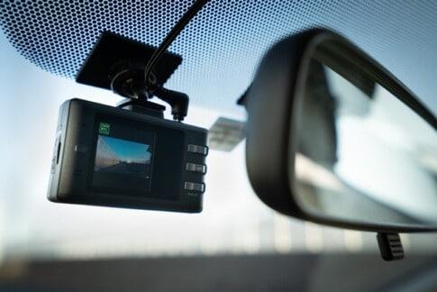 ドライブレコーダーのバックアイカメラ