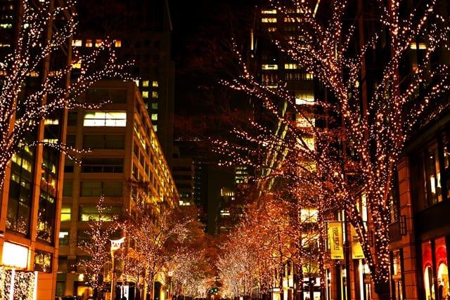 クリスマスが近づく年末の繁忙期