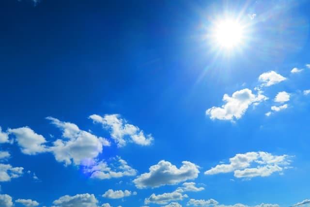 真夏の炎天下