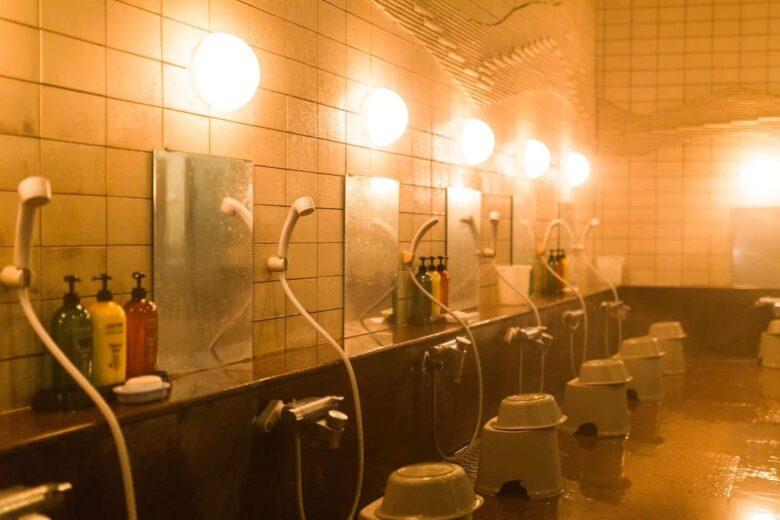 ヤマト運輸のベースで使用できる大浴場