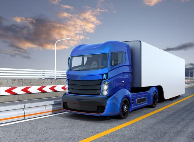 ハイブリッド大型自動車の予想図