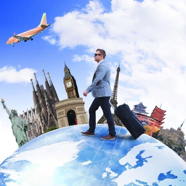 旅行会社に勤務する海外添乗員